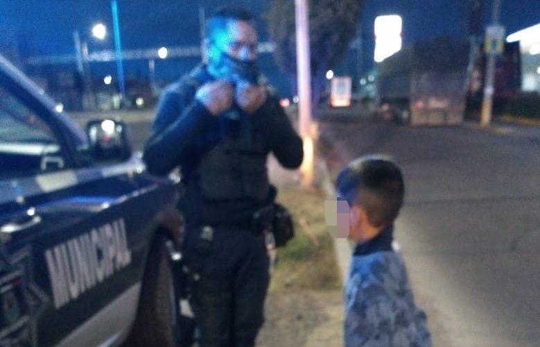 Localizan a menor de 6 años extraviado en el Morelos I