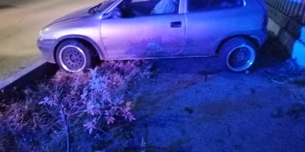 Se registra accidente en el fraccionamiento Morelos