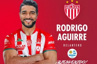 Llega a Necaxa Rodrigo Aguirre