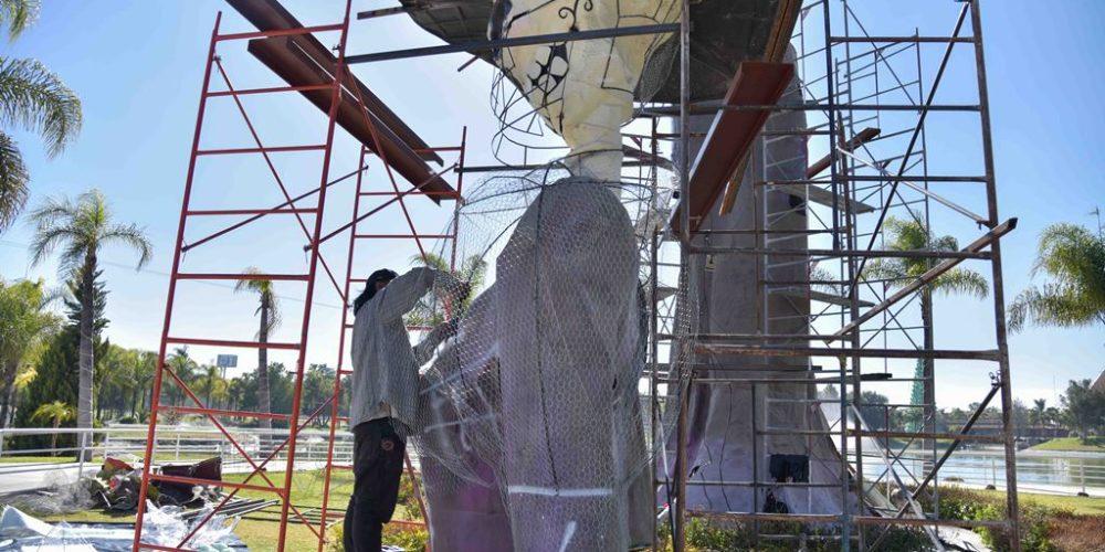 Restauran Catrina monumental de la Isla San Marcos
