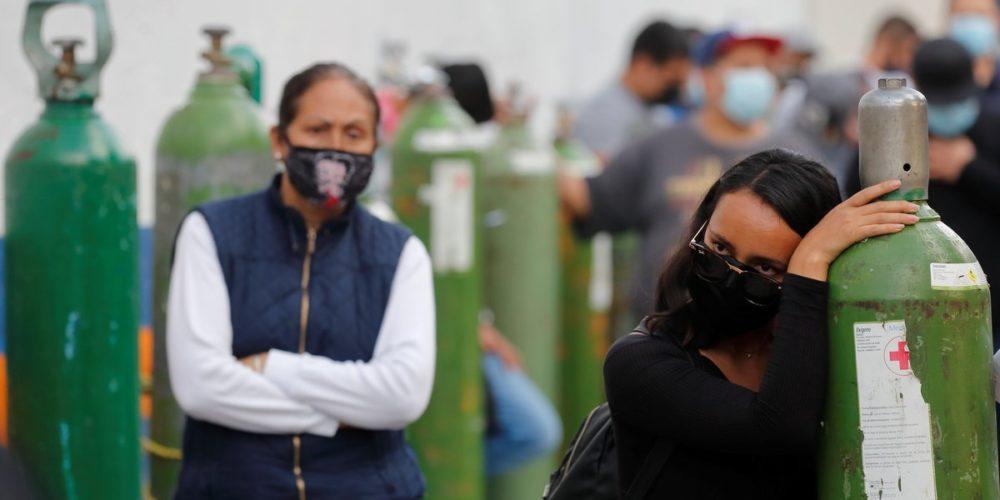 Nuevo récord de muertes  por Covid en México al registrarse 1,803 en un día