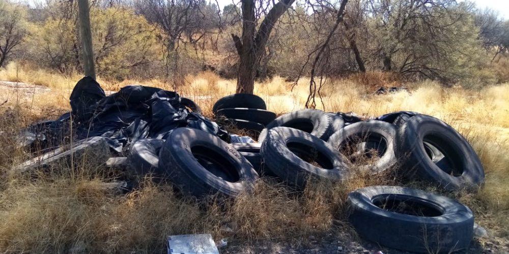 Denuncia PRD daño ecológico en predios de Tepezalá
