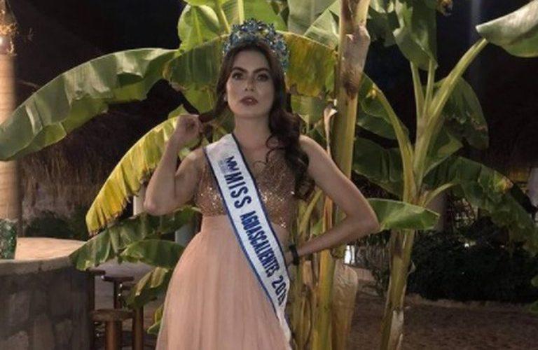 Murió Ximena Hita, quien fuera Miss Aguascalientes 2019