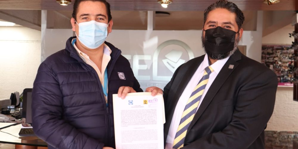 Formalizan acuerdo de coalición PAN y PRD en Aguascalientes