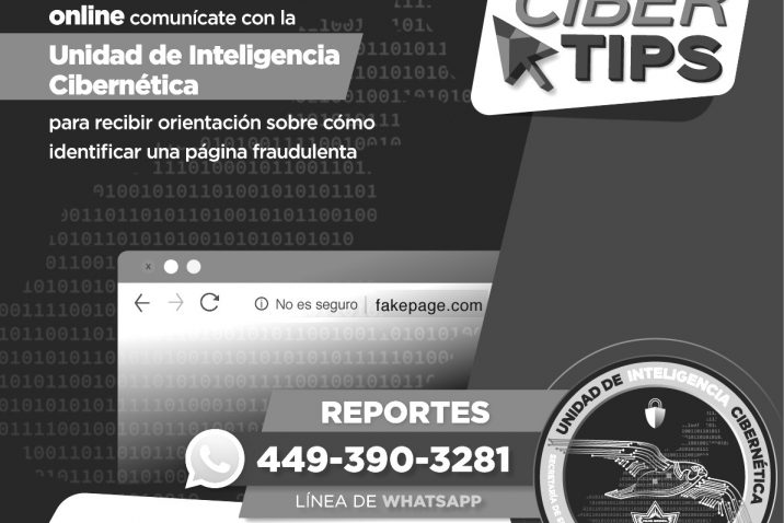 Unidad de inteligencia cibernética municipal alerta por compras en línea