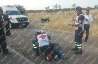 Lo levantan y lo tiran tras golpiza en antigua carretera a San Luis Potosí