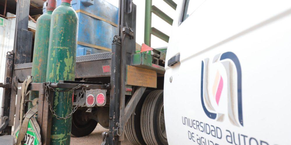 Invita UAA a población a devolver tanques de oxígeno para pacientes Covid