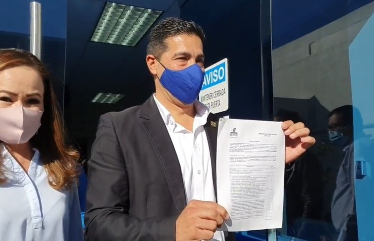 Se registra Leonardo Montañez como precandidato a la alcaldía de Aguascalientes