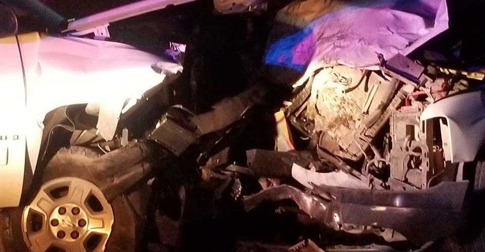 Aparatoso choque deja una mujer lesionada en Tepezalá
