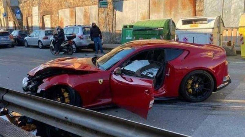 Empleado de autolavado destroza Ferrari del arquero Federico Marchetti
