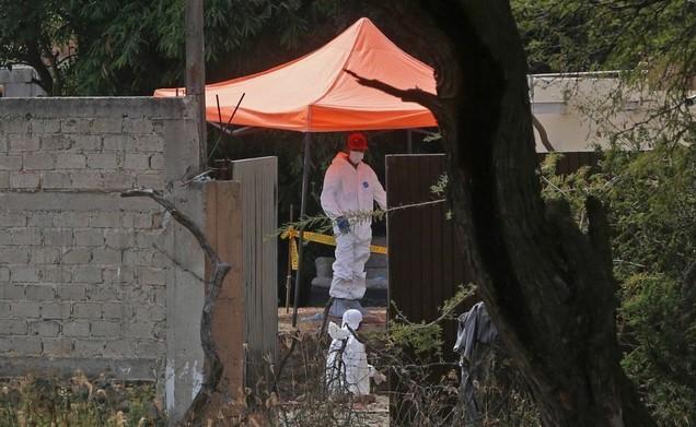 Encuentran 17 bolsas con restos humanos en fincas de Jalisco