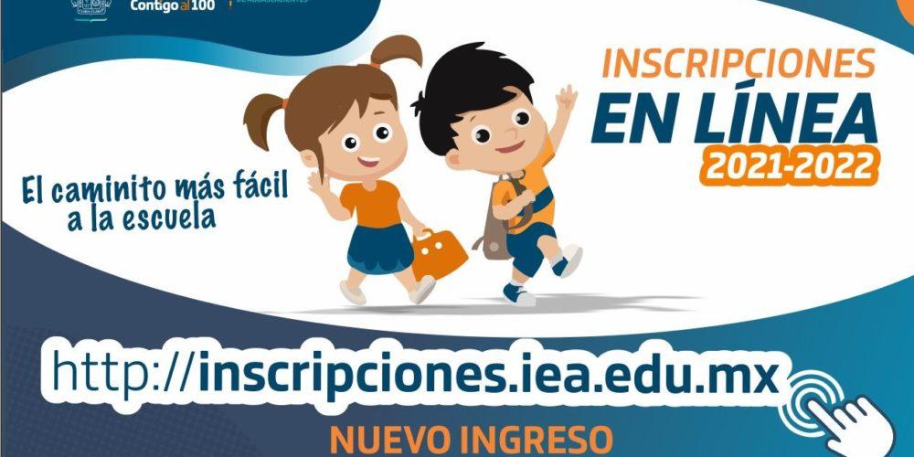 IEA habilita proceso de inscripciones en línea para estudiantes de nuevo ingreso