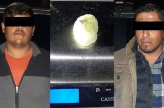 Los detuvieron en plena compra-venta de narcóticos