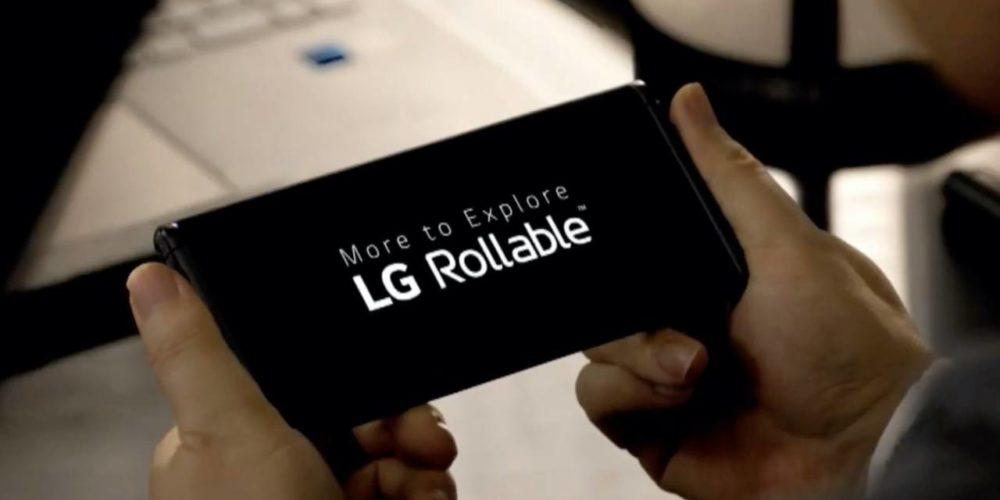 LG muestra su primer smartphone con pantalla enrollable