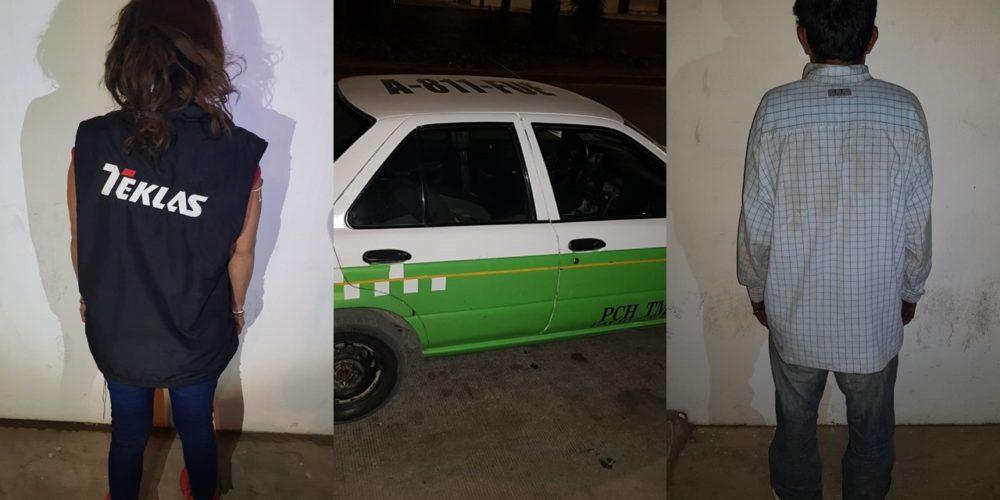 Detienen a pareja de robacoches en Aguascalientes