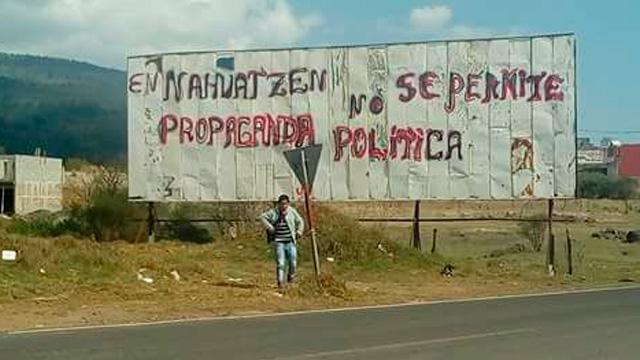 Piden firmas para liberar a dos miembros de una comunidad de Michoacán