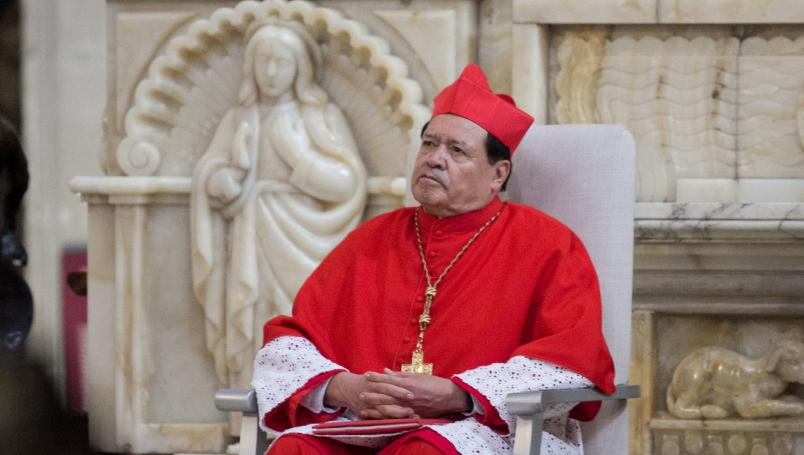 El cardenal Norberto Rivera carece de recursos económicos para pagar sus gastos médicos por covid