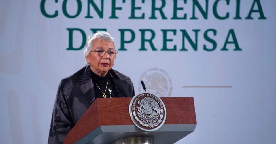 AMLO sigue dirigiendo el gobierno a distancia: Sánchez Cordero