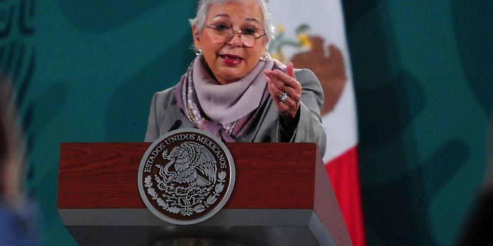 AMLO regresará cuando doctores así lo aprueben: Sánchez Cordero