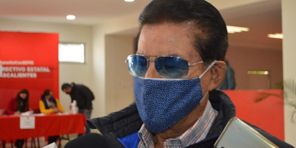Dirigente del PRI entre los inconformes por decisiones del CEN en Aguascalientes