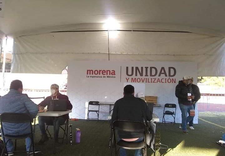 Se registran morenistas de Aguascalientes a diputaciones federales