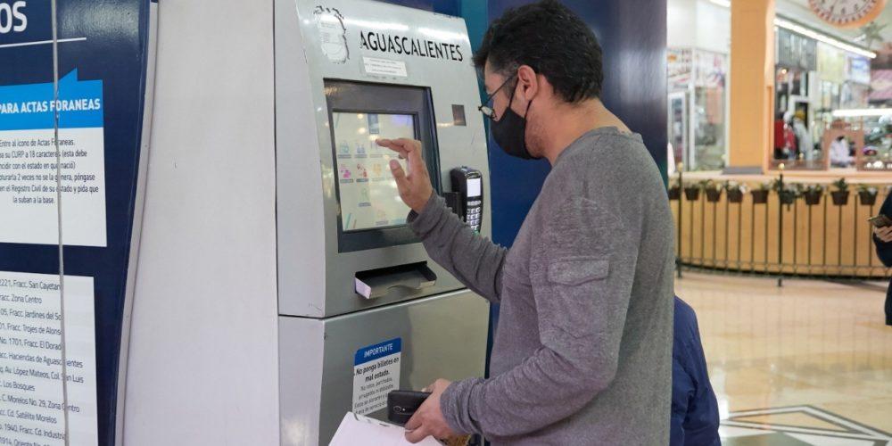 Cajeros automáticos de Gobierno del Estado amplían catálogo de servicios
