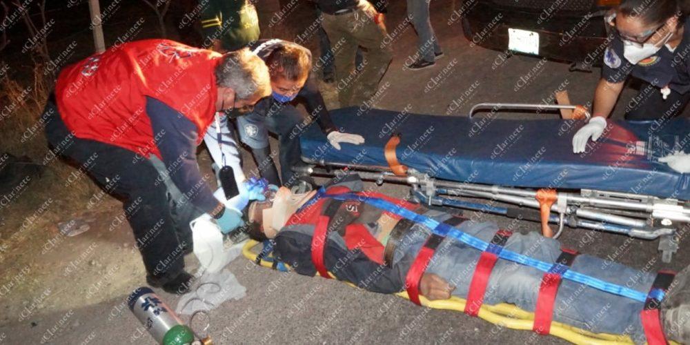 Peatón fue atropellado en Héroe Inmortal, no soportó las heridas y murió