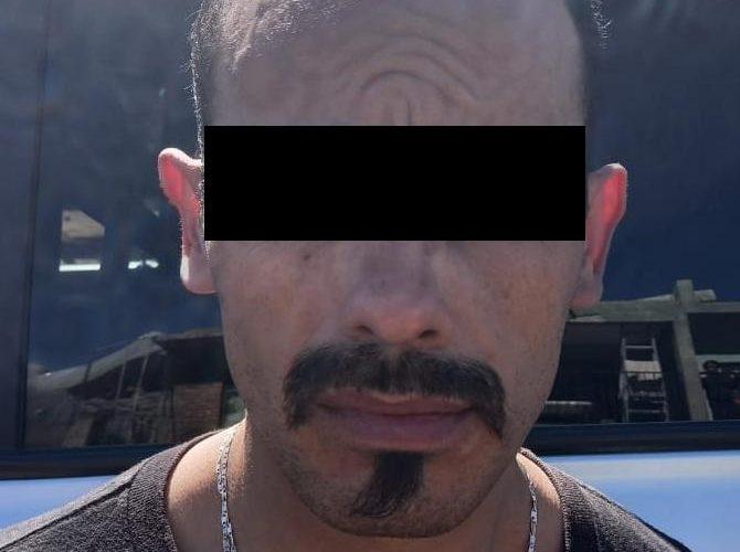 """Cae """"El Zombie"""" sujeto identificado como blanco prioritario por robo, en Calvillo"""