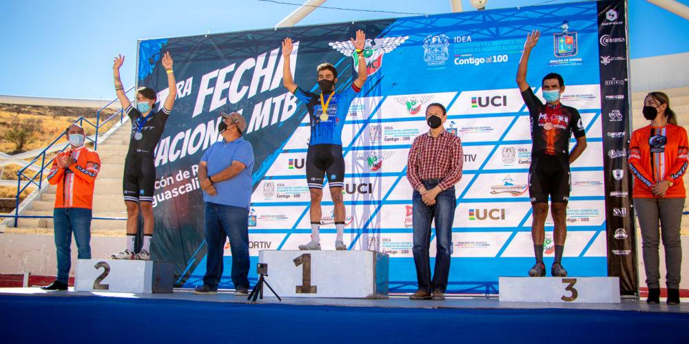 Celebran Campeonato Nacional de Ciclismo de Montaña en Rincón de Romos