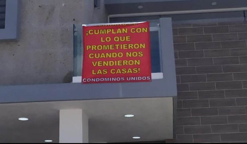 Denuncian fraude de constructora en Aguascalientes
