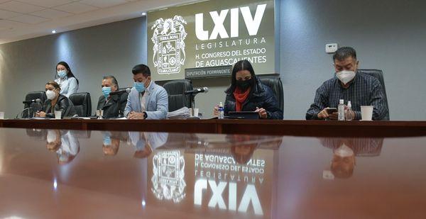 Va Ley Provida y cuentas públicas a periodo extraordinario del Congreso de Aguascalientes