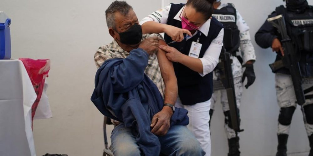 Así se distribuyeron las 8 mil 310 vacunasanti-Coviden Aguascalientes