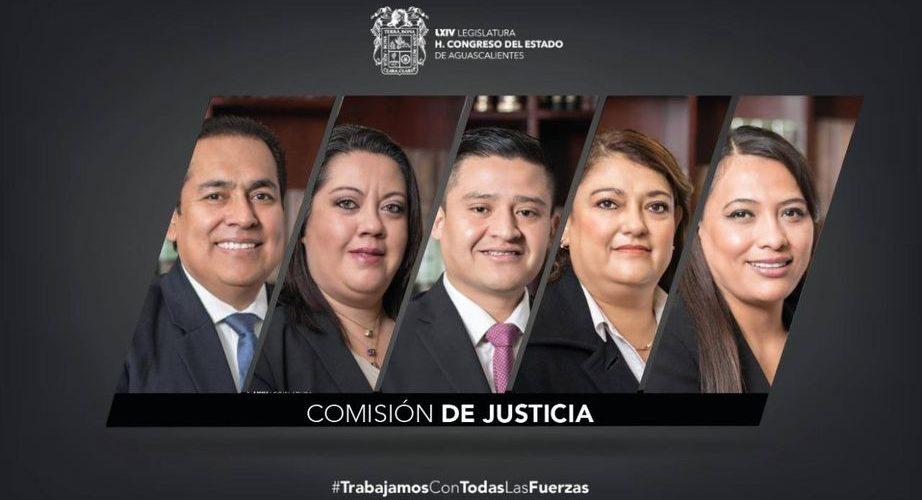 Comisión de Justicia presume abatimiento del rezago legislativo