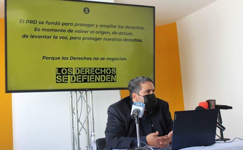 Ley Provida fue un tema electoral del  PAN, más que defensa de la vida: PRD