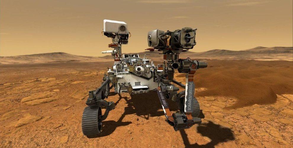 El rover Perseverance de la NASA aterriza en Marte con éxito