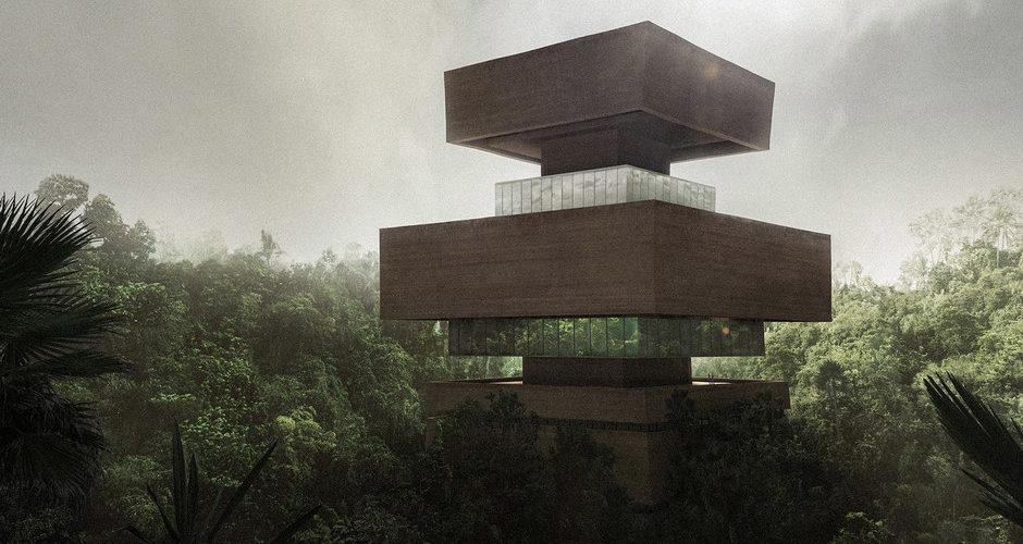 Así sería Xinatli, el primer museo de investigación en medio de la jungla mexicana
