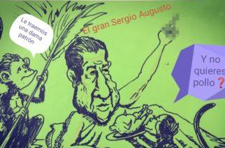 Tras la vergüenza nacional, Sergio Augusto se refugia con sus adoradores