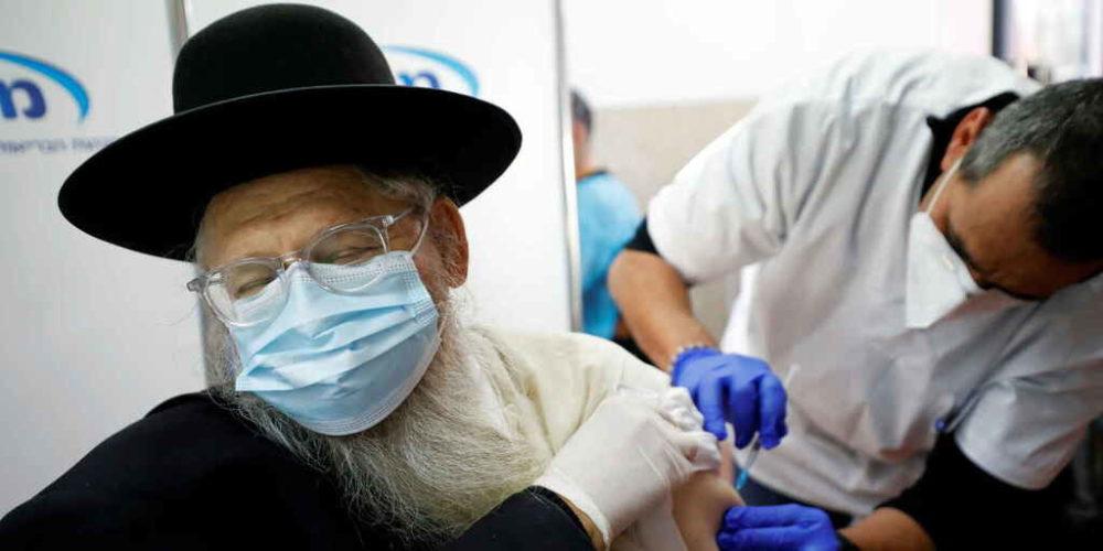 Casos de Covid caen 95.8% en Israel tras vacunación