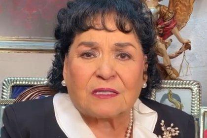 Me hackearon: Carmen Salinas anuncia que se quedó sin Facebook