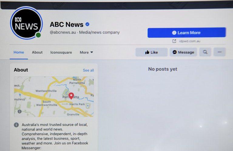 Facebook bloquea la publicación de noticias en Australia