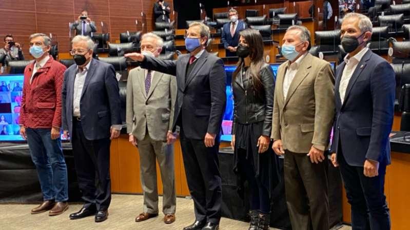 Senado ratifica a Esteban Moctezuma como embajador de México en EU