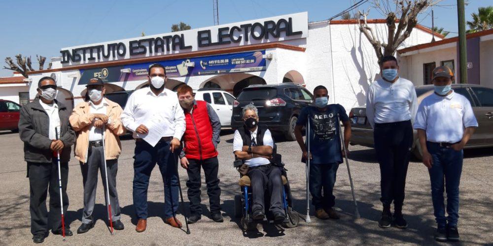 Priistas con discapacidad piden inclusión en candidaturas