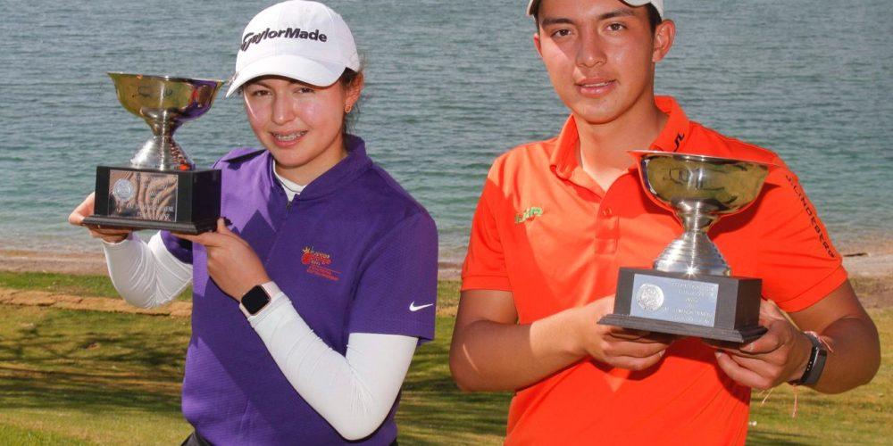 Golfistas infantiles-juveniles ganan pases a torneos internacionales