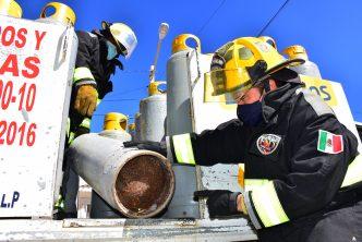 Municipio emprende campaña para sustituir tanques de gas en mal estado