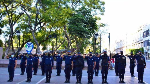 318 policías municipales se han graduado del Instituto Superior en Seguridad Pública