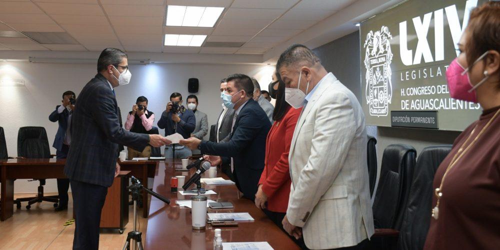 Entrega Fiscalía de Aguascalientes 3er informe de actividades