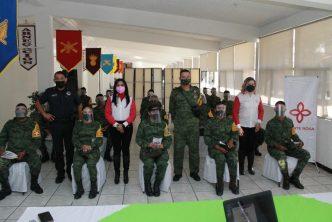 Ejército colaborará con el municipio en la prevención de la violencia de género