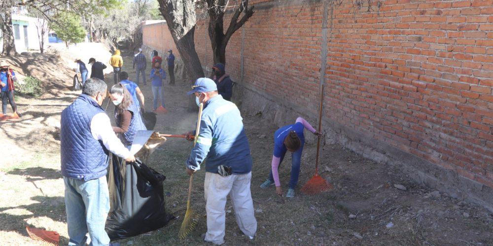 Realiza municipio jornada ambiental en Cañada Honda