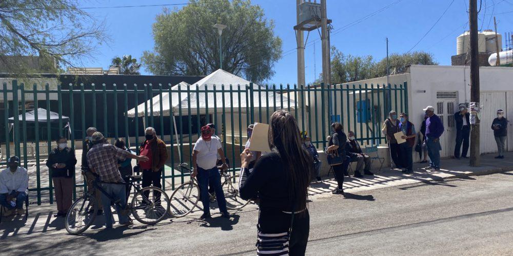 Reconocen errores en logística de vacunación en Aguascalientes