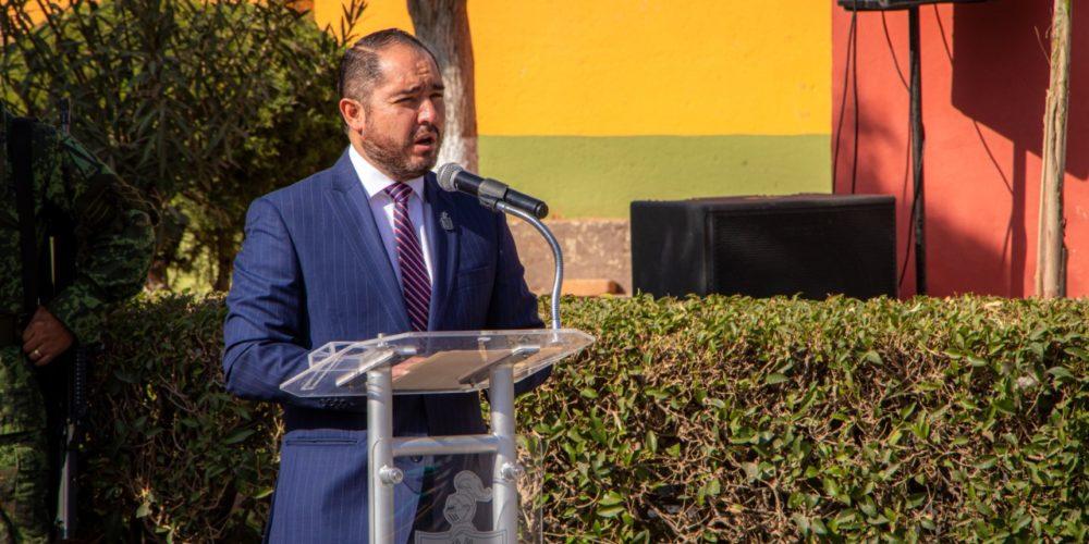 Conmemoran 154 años de la Batalla de San Jacinto en Rincón de Romos